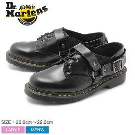 DR.MARTENS ドクターマーチン シューズ ブラック フルマー 3ホール シューズ FULMAR 3EYE SHOE 23867001 メンズ レディース 靴 マーチン ブランド 革 レザー フォーマル ハーネス ベルト おしゃれ お出かけ 人気 黒