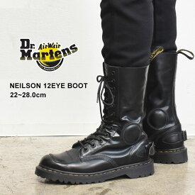 DR.MARTENS ドクターマーチン ブーツ ブラック ニールソン 12ホール ブーツ NEILSON 12EYE BOOT 23702001 メンズ レディース 靴 シューズ マーチン ブランド レザー おしゃれ