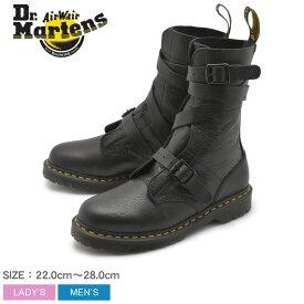 DR.MARTENS ドクターマーチン ブーツ ブラック ビーヴァン バックルストラップ ブーツ BEVAN BUCKLE STRAP BOOT 23693001 メンズ レディース 靴 シューズ マーチン ブランド レザー 10ホール 黒