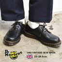 DR.MARTENS ドクターマーチン 革靴 ブラック 1461 ヴィンテージ 3ホール シューズ 1460 VINTAGE 3EYE SHOE 12877001 …