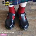 ドクターマーチン メリージェーン ポリー Tバー シューズ レディース DR.MARTENS POLLEY T BAR SHOE MARY JANE 14852001 黒 靴 レザー ストラップ Tストラップ マーチン ポーリー 復刻 売れ筋 おしゃれ かわいい|ca-ktu sale|