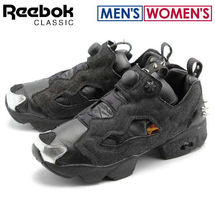 送料無料 リーボック クラシック REEBOK CLASSIC スニーカー インスタ ポンプ フューリー OG HW ブラック×シルバーメット(REEBOK INSTAPUMP FURY OG HW AR1716)シューズ 靴 メンズ(男性用) 兼 レディース(女性用)