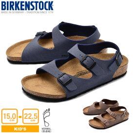 BIRKENSTOCK ビルケンシュトック サンダル 全2色ローマ ROMA0233071 1007940 キッズ&ジュニア(子供用)|san-ktu sale|