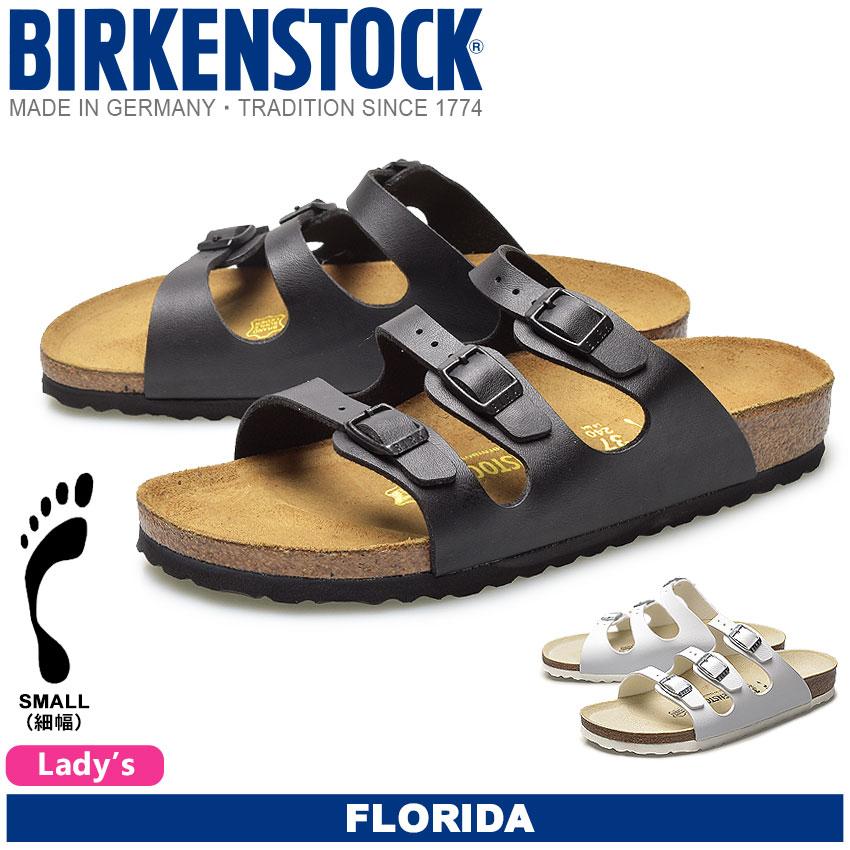 送料無料 ビルケンシュトック ビルケン(BIRKENSTOCK) フロリダ FLORIDA 全2色 [細幅タイプ] レディース(女性用) サンダル 人気の ボストン チューリッヒ も取扱い中