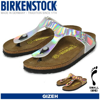 Birkenstock (BIRKENSTOCK) Giza GIZEH 846943 846963 2 colors schmale thin width type hologram thong Sandals ladies (female)
