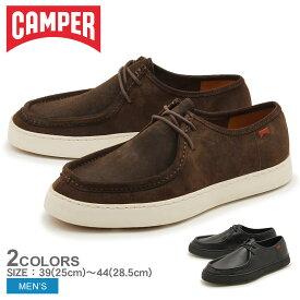 CAMPER カンペール カジュアルシューズ 18921 メンズ チャッカ シューズ レザー カジュアルシューズ ブラック ブラウン 黒 靴 天然皮革