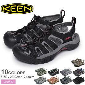送料無料 KEEN キーン サンダル ニューポート H2 NEWPORT H2 1003481 1010955 1014200 1014199 1016288 1019292 1018947 レディース アウトドア スポーツサンダル 川 レジャー シューズ 靴 ブランド 履きやすい