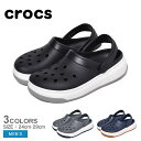 CROCS クロックス サンダル クロックバンド フルフォース クロッグ CROCBAND FULL FORCE CLOG 206122 メンズ 靴 定番 人気 ブランド 軽量 履きやすい 黒