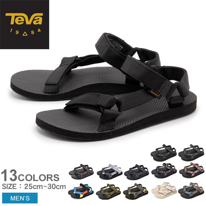 送料無料 TEVA テバ オリジナル ユニバーサル サンダル メンズ ORIGINAL UNIVERSAL 1004010 1004006 全8色 スポーツサンダル 男性用