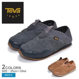 送料無料 TEVA テバ スリッポン エンバーモック シェアリング EMBER MOC SHEARLING 1103239 メンズ 靴 シューズ スニーカー カジュアル アウトドア レジャー 黒 ブラック タウンユース キャンプ グリップ性 防寒