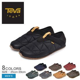 TEVA テバ スリッポン エンバーモック EMBER MOC 1018226 メンズ 靴 シューズ スニーカー カジュアルシューズ ローカット カジュアル アウトドア キャンパー レジャー 黒 赤 ブラック レッド グレー カーキ キャンプ 2WAY グリップ性