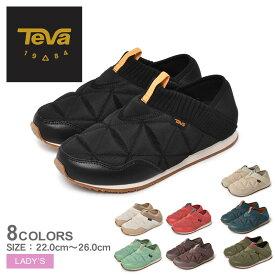 テバ リ エンバーモック TEVA スリッポン レディース ホワイト 白 ブラック 黒 RE EMBER MOC 1125471 テヴァ モックシューズ アウトドアシューズ タウンユース コンフォートシューズ サンダル 靴 シューズ カジュアル ローカット