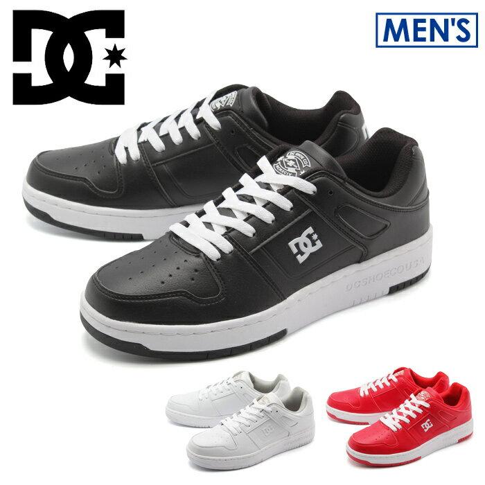 送料無料 DCシューズ DCSHOECOUSA スニーカー マンテカ ライト 全3色(DCSHOECOUSA DM181602 BLK WHT RED MANTECA LITE)メンズ(男性用) 靴 シューズ アウトドア スポーツ スケートボード