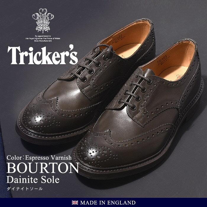 送料無料 トリッカーズ TRICKER'S バートン ダイナイトソール TRICKERS (TRICKER'S 5633 9 COUNTRY BOURTON) メンズ(男性用)