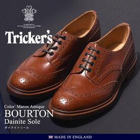 トリッカーズ TRICKER'S バートン マロンアンティーク ダイナイトソール TRICKERS (TRICKER'S 5633 39 COUNTRY BOURTON) メンズ(男性用)