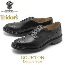 TRICKER'S トリッカーズ カジュアルシューズ ブラックバートン BOURTON5633/10 メンズ