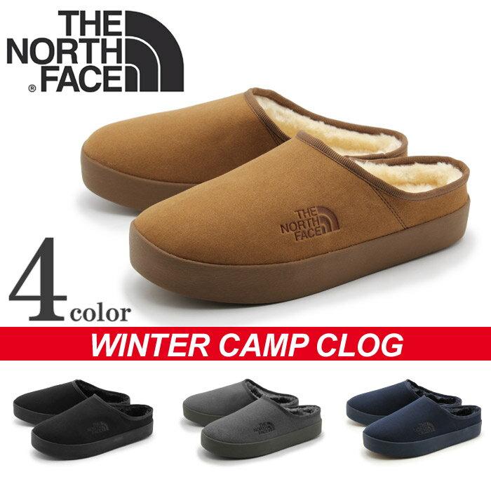 送料無料 ザ ノースフェイス ノースフェース THE NORTH FACE サンダル ウインター キャンプ クロッグ ブラック 他全4色THE NORTH FACE WINTER CAMP CLOG NF51651レディース(女性用)