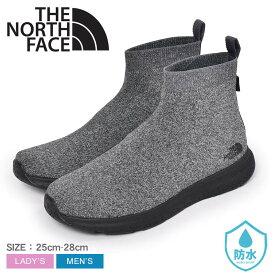 ザ ノース フェイス ベロシティ ニット ミッド GORE-TEX インビジブル フィット THE NORTH FACE レインシューズ メンズ レディース グレー 黒 ブラック VELICITY KNIT MID GORE-TEX INVISIBLE FIT NF51997 靴 防水