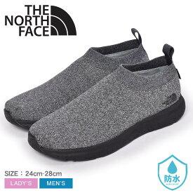 ザ ノース フェイス ベロシティ ニット GORE-TEX インビジブル フィット THE NORTH FACE レインシューズ メンズ レディース グレー 黒 ブラック VELICITY KNIT GORE-TEX INVISIBLE FIT NF51998 靴 シューズ トレイル スポーツ アウトドア