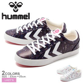 HUMMEL ヒュンメル スニーカー 全2色デュースコート プリント DEUCE COURT PRINTHM201592 7666 9806 レディース