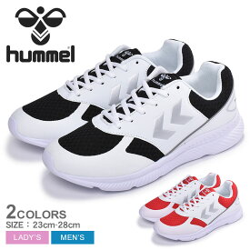 HUMMEL ヒュンメル スニーカー HANDEWITT 206731 メンズ レディース シューズ 靴 軽量 快適 ローカット アウトドア スポーツ 通勤 通学 学生 運動 カジュアル ブランド 黒 白 赤 ライフスタイル