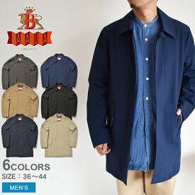 BARACUTA バラクータ コート G10 オリジナル コート G10 ORIGINAL COAT BRCPS0189-BCCL2 メンズ ミドル トップス ウェア クールマックス ステンカラーコート ビジネス おしゃれ ブランド 撥水 長袖 紳士 黒