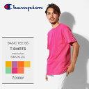 【メール便可】 CHAMPION チャンピオン 半袖Tシャツ 全7色ベーシック 半袖Tシャツ BASIC TEE SSCT1000 メンズ