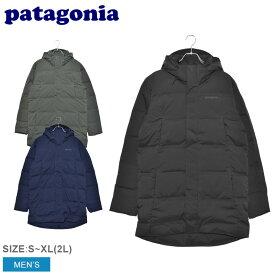 PATAGONIA パタゴニア ダウンジャケット ジャクソン グレイシャー パーカ JACKSON GLACIER PARKA 27910 メンズ ウェア アウター ダウン パーカ カジュアル シンプル スポーティ アウトドア レジャー 上着 防寒 長袖 黒 紺 緑