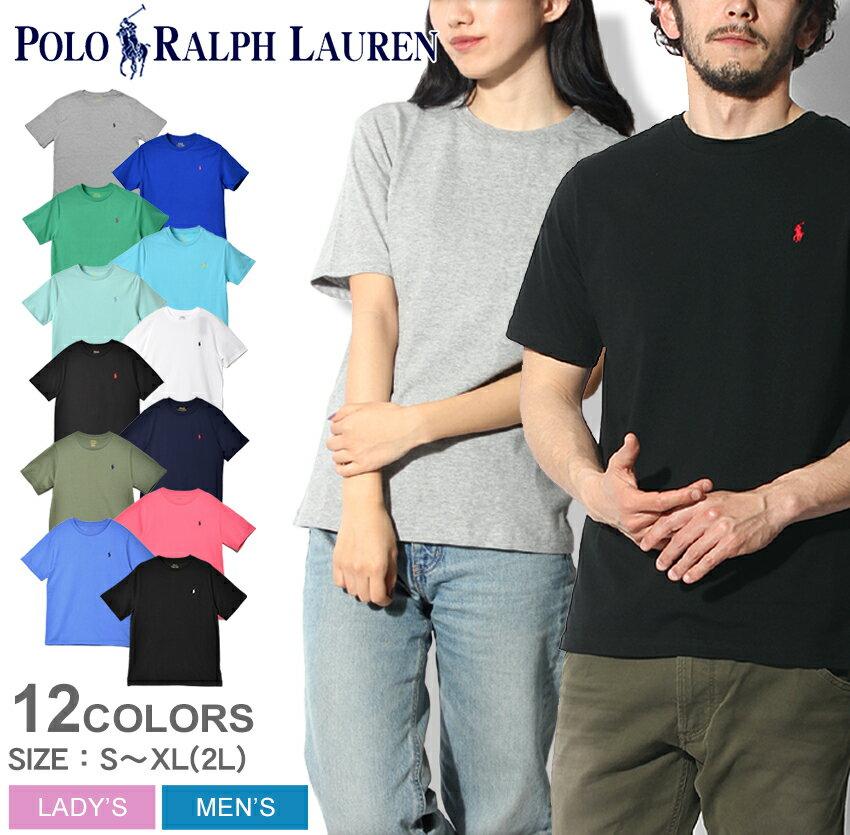 【メール便可】 POLO RALPH LAUREN ポロ ラルフローレン Tシャツ 全11色ワンポイント クルーネック 半袖Tシャツ323-674984 001 002 003 004 005 006 323-690080 004 005 006 010 014 メンズ レディース