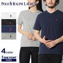【メール便可】 POLO RALPH LAUREN ポロ ラルフローレン Tシャツ 全5色ワンポイント Vネック 半袖Tシャツ323-674983 001 00...