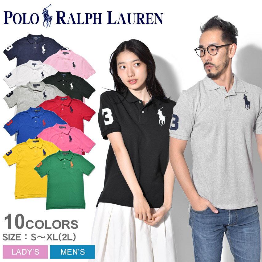 POLO RALPH LAUREN ポロ ラルフローレン ポロシャツ 全6色ビッグポニー ポロシャツ323-690068 004 009 010 323-670257 006 014 015 メンズ レディース