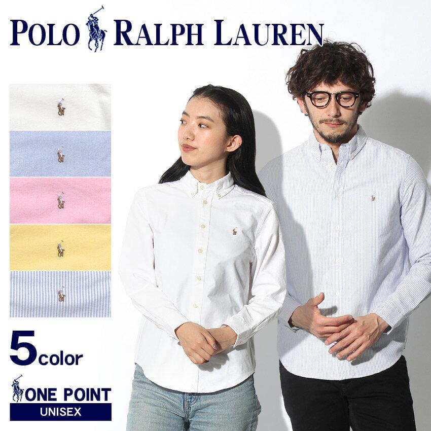 【最大500円OFFクーポン】 POLO RALPH LAUREN ポロ ラルフローレン シャツ 全5色ワンポイント オックスフォードシャツ323-677133 001 002 003 004 323-677177 001 メンズ レディース