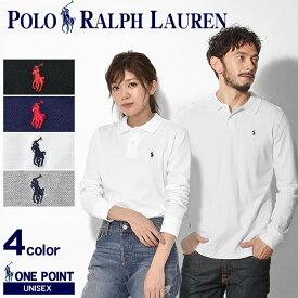 送料無料 POLO RALPH LAUREN ポロ ラルフローレン 長袖シャツ 全4色ワンポイント ポロシャツ323-703634 011 012 013 014 メンズ レディース