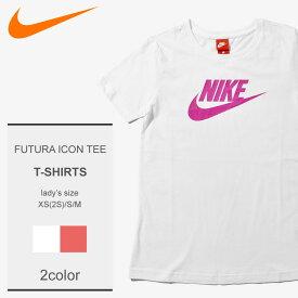 【メール便可】 NIKE ナイキ Tシャツ 半袖 白 ホワイト 全2色 綿 ブランド おしゃれ フューチュラ アイコン ティー FUTURA ICON TEE 846468 102 823 レディース [19glt]