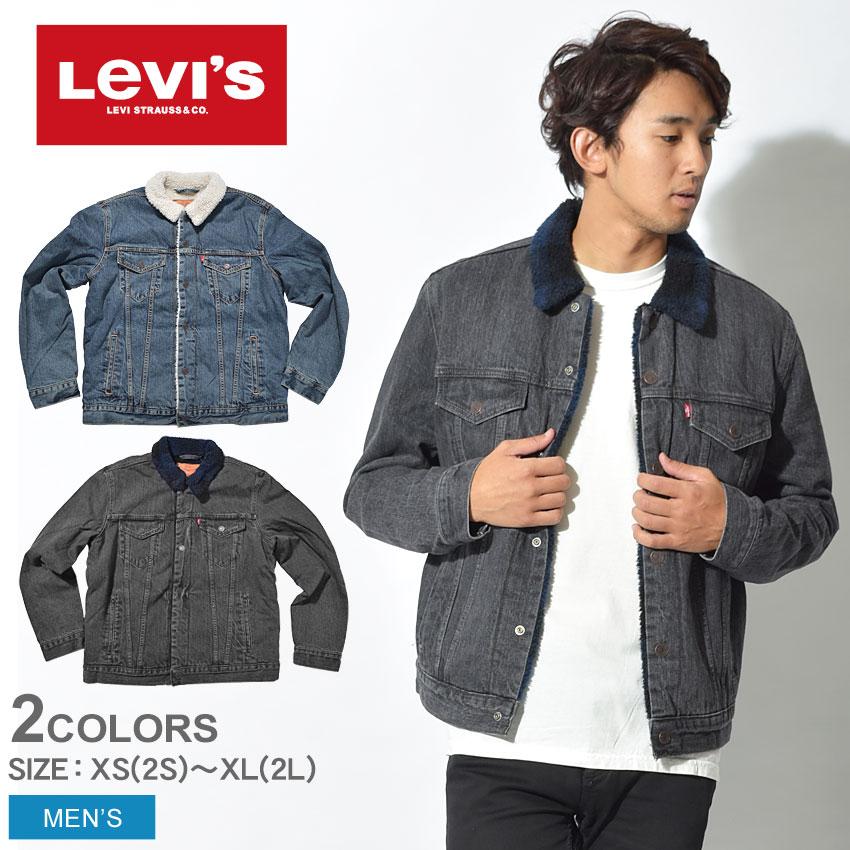 送料無料 LEVI'S LEVIS リーバイス RED ジャケット シェルパトラッカー ジャケット デニム 他全2色 16365-0041 0047デニム トラッカージャケット アウター ボア ブラックウォッチ 黒メンズ
