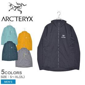 アークテリクス ジャケット ARC'TERYX スコーミッシュ フーディ メンズ ブラック 黒 イエロー グレー SQUAMISH HOODY 25172 アウター トップス ジャケット シェルジャケット おしゃれ フード 防寒 上着 登山 軽量 アウトドア