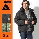 送料無料 POLER ポーラー ダウンジャケット メンズ バーナー ジャケット ブラック他全2色MENS BURNER JACKET 633123 B…