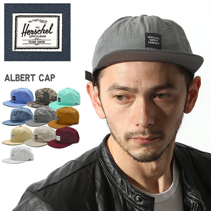 HERSCHEL SUPPLY ハーシェル サプライ アルバート ベルト キャップ 全11色ALBERT CAP 1020帽子 ハット ロゴ ベルトメンズ(男性用) 兼 レディース(女性用)