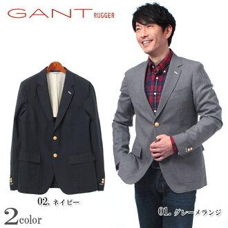GANT RUGGER Gantt Lager R THE HOPSACK the hopsack jackets 201303 76873 92 405 men's tailored Blazer (for men)