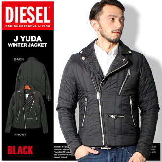 DIESEL diesel batting jacket J YUDA WINTER JACKET black 00 SJS6 0CAKA 900 001 outer coat jumper jacket winter jacket filling winter winter autumn/winter jacket (for men)