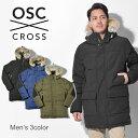 送料無料 OSC CROSS オーエスシークロス ダウンジャケットセントジョーンズ ST JOHNSM22CX メンズ