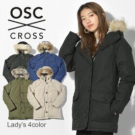 OSC CROSS オーエスシークロス ダウンジャケットローズデール ROSEDALEW52CX レディース