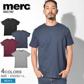 【メール便可】 MERC メルクロンドン 半袖Tシャツ キーポート KEYPORT メンズ ウェア トップス ターゲット スクータ シンプル ベーシック ロゴ ブランド クラシック グラフィック イギリス ロンドン プレゼント ギフト 英国 半袖 白