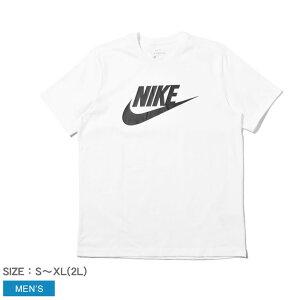 【メール便可】 ナイキ 半袖Tシャツ NIKE フューチュラ アイコン S/S Tシャツ メンズ ホワイト 白 FUTURA ICON S/S T-SHIRT AR5005 トップス クルーネック シンプル ロゴ スポーツ カジュアル トレーニン