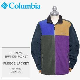 送料無料 COLUMBIA コロンビア フリースジャケットバックアイ スプリングスジャケット BUCKEYE SPRINGS JACKETPM1425 267 メンズ