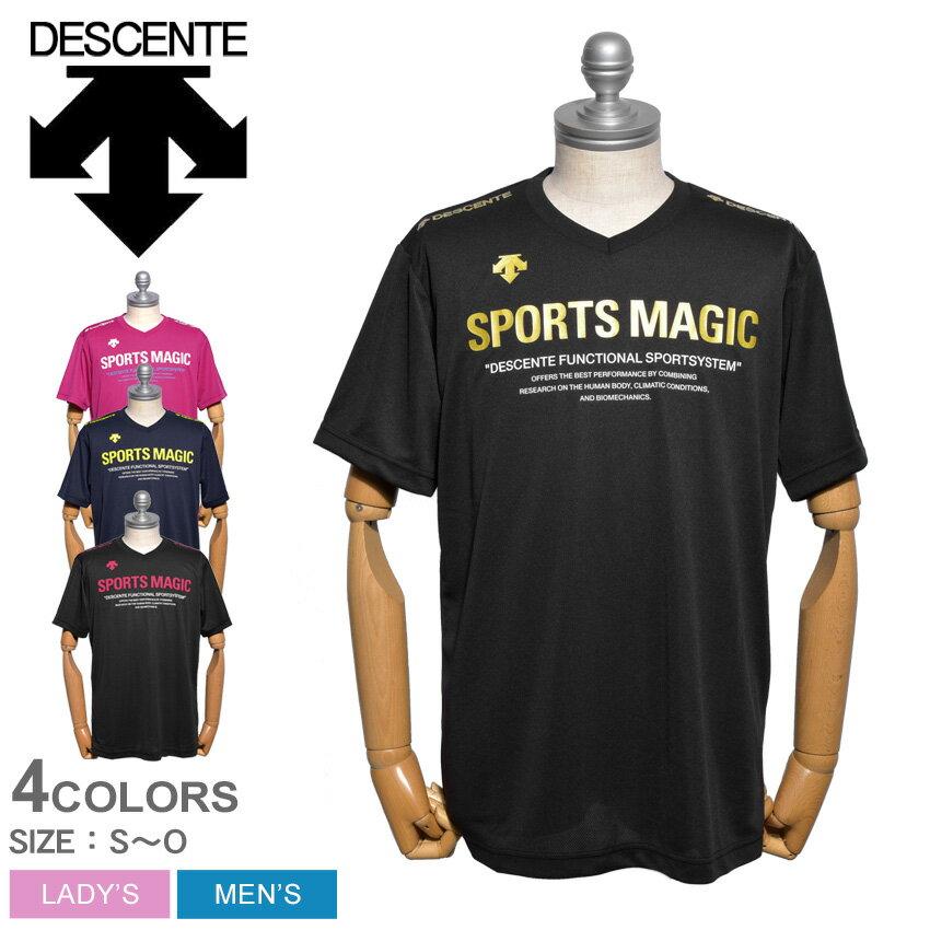 【メール便可】DESCENTE デサント トレーニングウェア 全4色半袖プラクティスシャツ DVULJA55 メンズ レディース