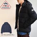 ピレネックス ダウンジャケット PYRENEX スプートニックマットジャケット メンズ ブラック 黒 ネイビー SPOUTNIC MAT JACKET HMO009 アウター トップス ジャケット おしゃれ 防寒 上着 アウトドア 旅行 軽量 防寒 フード