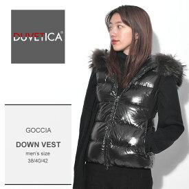 送料無料 デュベティカ DUVETICA ダウンベスト ブラックゴッチャ GOCCIA182-D.0032N03/1035.R 999 レディース