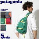 PATAGONIA パタゴニア バッグ アトム スリング 8L ブラック 他全5色ATOM SLING 8L 48260デイパック ワンショルダー バッグ 鞄 ...