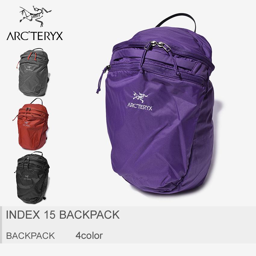 送料無料 ARC'TERYX アークテリクス バックパックインデックス 15 バックパック INDEX 15 BACKPACK18283 メンズ レディース